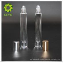 5ml 10ml beste verkaufende klare farbige leere Parfüm-Kosmetikglasrolle auf Flasche