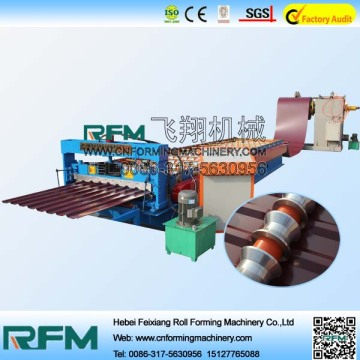 Metal Roofing Sheet Profiling Roll Forming Machine
