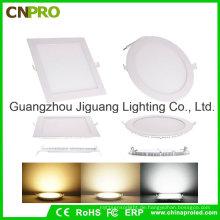 Super dünne runde / quadratische LED-Instrumententafel-Leuchte 6W mit Ce-RoHS genehmigt
