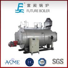 Calderas de vapor calcinadas con aceite de mejor calidad (gas)