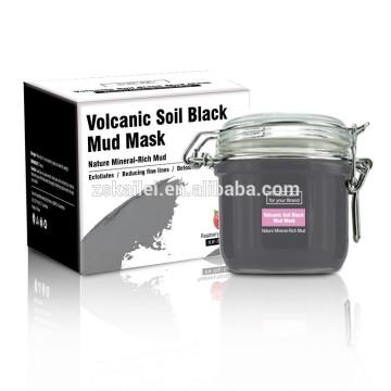 Máscara facial del colágeno del fango negro del OEM de la fábrica de GMPC