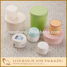Container with plastic jar