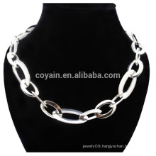 Best Price Shiny Silver Plating Unisex Stainless Steel Chain Necklace