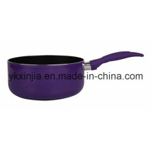 China fornecedor de utensílios de cozinha de alta qualidade alumínio molho pan utensílios de cozinha