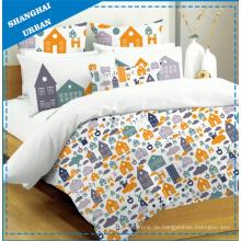 4 Stück Kinder Baumwolle Bettbezug (Set)