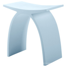 KC-02 Adult Solid Surface Stone Bath Shower Seat Stool