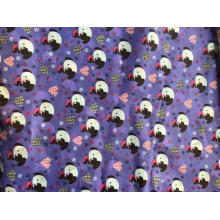 Multi-pattern Satin Printed Fabric