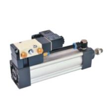 Serie neumática SUF de doble acción, combinación de válvula de cilindro