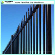 Pressed Spear Top Steel Tube Security Fence