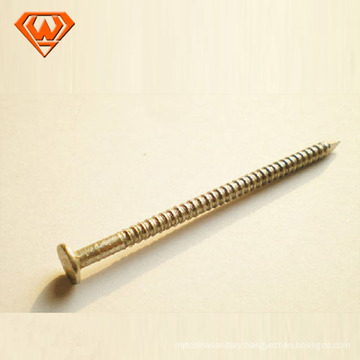 Round Flat Head With Screwed Bolt