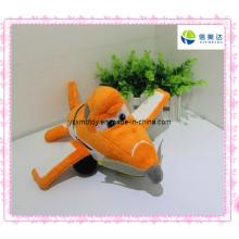 Funny Orange Plush Plane for Baby