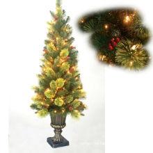 2013 llevó la luz al aire libre solar del árbol de navidad
