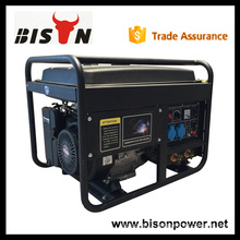 BISON China 5kw 5000W CE High Quality Honda 3 Phase Welding Generator