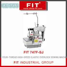 Four-Thread High-Speed Elastic Overlock Sewing Machine (747F-SJ)