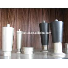 Zinco personalizado e alumínio fundição parafusos de porta, pernas