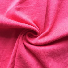 Pima cotton solid red color high quality fabric