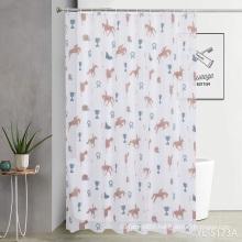 PEVA EVA Shower Curtain Print