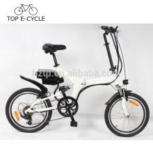 Vert électrique e vélo 20inch électrique pliable vélo