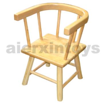 Cadeira de madeira das crianças em madeira sólida de borracha (81440-81441)