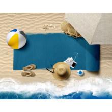 Quick Fast Dry Beach Non-Slip Best Wholesale Grip Mat Custom Yoga 100% Polyester Towel for Hot Yoga