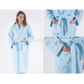 Best Quality Terry Cloth Cut Velvet Style Custom Color 100% Cotton Bathrobe