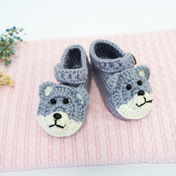 New Born Casual Design tejer botitas de bebé