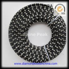 Sierra de hilo de diamante de mármol para la mina de mármol