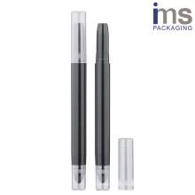 Round Plastic Automatic Pen Case 12.1*127mm