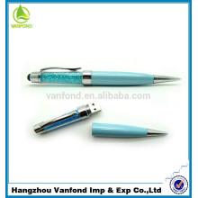 Высоким qualtiy реальной способности OEM кристалл usb 2.0 usb ручка привода с логотипом