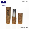 Bamboo spraying empty cosmetic lipstick tube case container