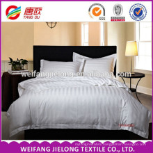 """hot sale stripe style satin fabric JC60*40 173*120 110"""" 100% cotton satin stripe fabric for home textile and hotel beddings"""