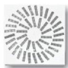 Feuille en fer pour diffuseur tourbillon pour la climatisation de haute qualité