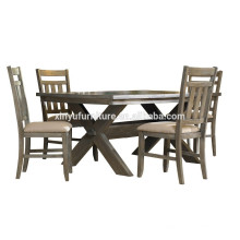 American style dining table and farm chair for sale XYN1499