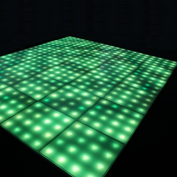 Müzik Aktif Renkli DMX LED Dance Floor Light