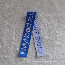 Super Long Strip Woven Label для одежды