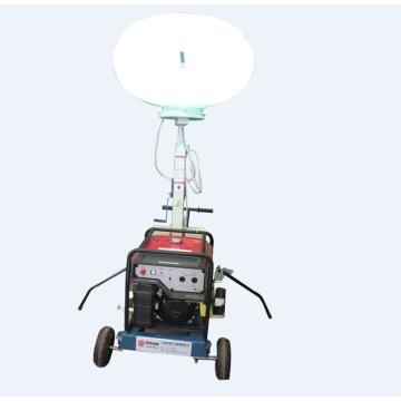 Torre de luz de balão alimentado por bateria para venda