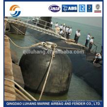 Deflector de goma hidroneumático de Luhang para submarino