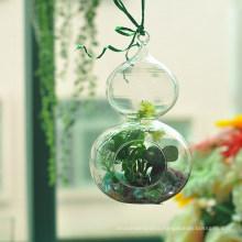 Handmade Gourd Shaped Hanging Glass