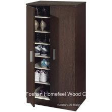 Hallway Furniture Wooden 2 Door Shoe Cabinet (SC04)
