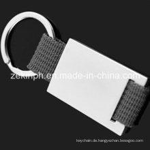 Custom Made Metall Lanyard Schlüsselanhänger erhältlich für Laser gravierte Logo