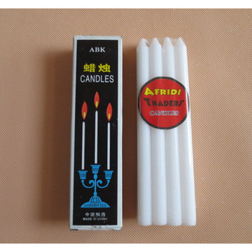 Murah Mini Dripless White Stick Candles