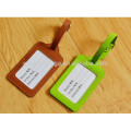 cheap leather luggage tags as giveaway gifts