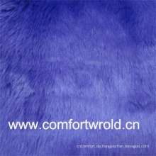 Helle Farbe 55 % Acryl, 45 % Polyester Faux Fur Fabric For Sale
