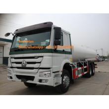 Camión de combustible de 22cbm con motor de 336 Hp