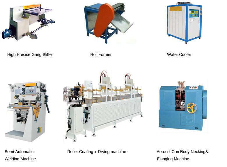 Hair Spray Air Freshener Aerosol Tin Can Making Machine Production Line
