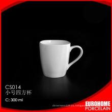 común banquete evento y aerolínea chino blanco taza de cerámica