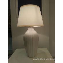Home Decoration White Ceramic Table Lamp (YJ10010/00/010)