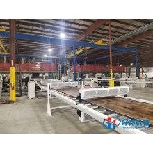 SPC flooring tile making machinery