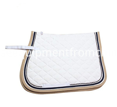 cotton saddle pad