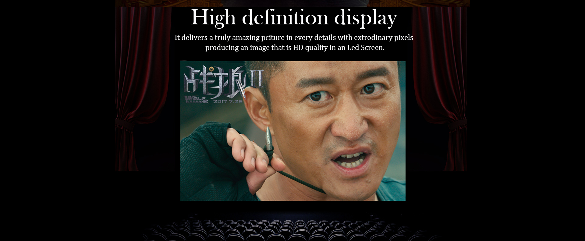 High legibility P1.6 Indoor UHD led display screen